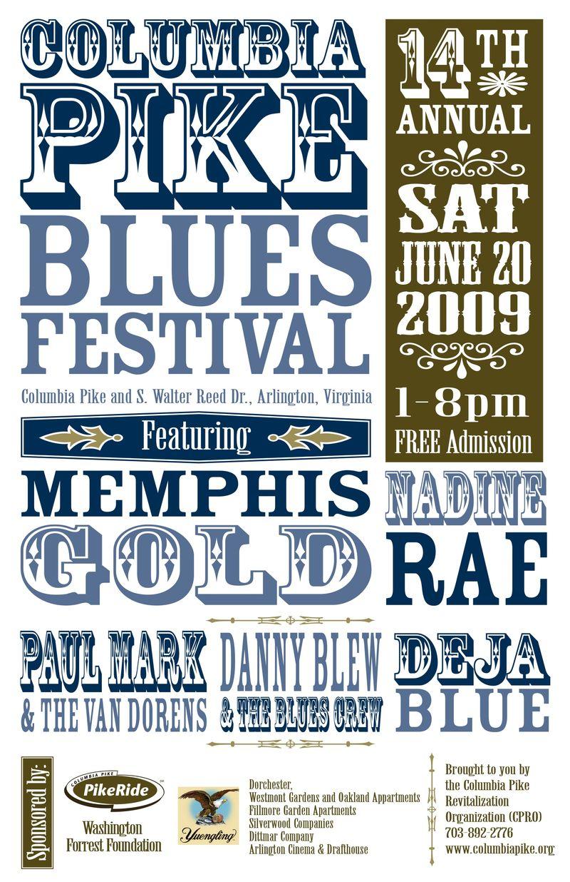 2009_Blues Fest poster