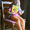 Orange Leggings and Yellow Socks