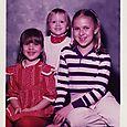 Ribbon Barrettes   circa 1982
