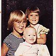 Maddie, Lily, & Juliette | circa 1981