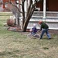 First Bike Lesson   4.10.11
