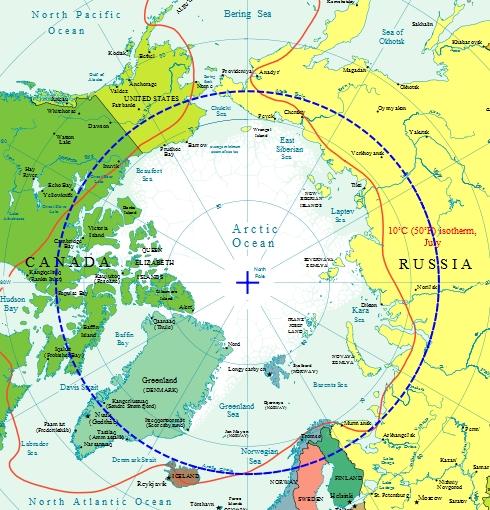 Arctic-circle-map