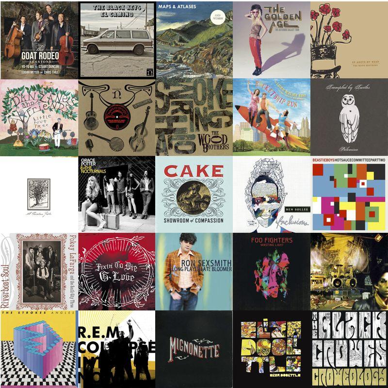 2011MusicCollage