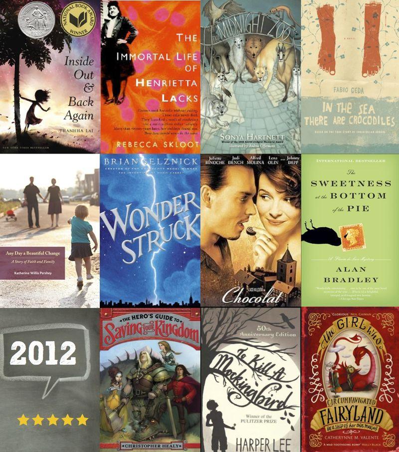 Bookcollage2012