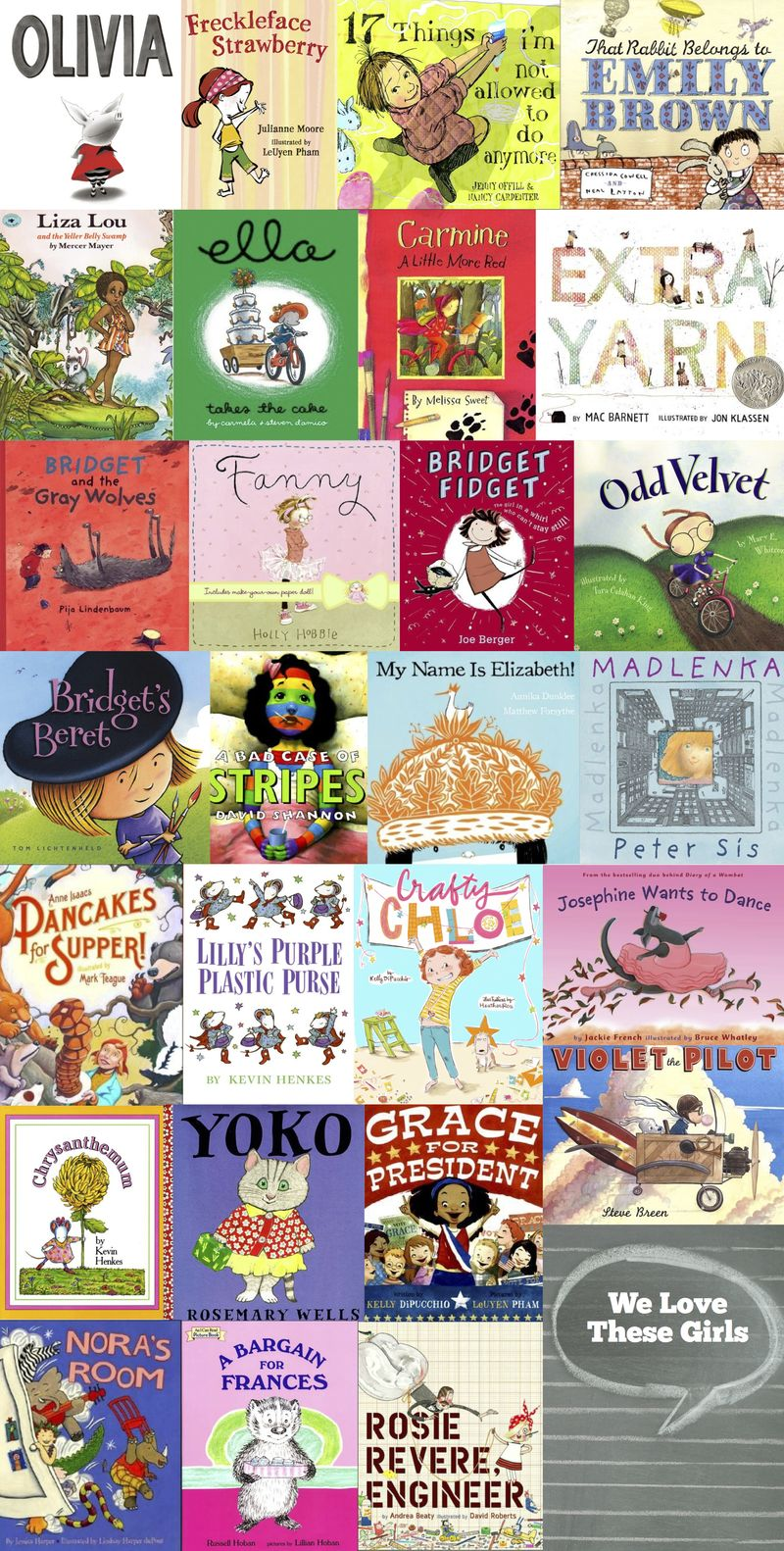 Great Picture Books With Girls