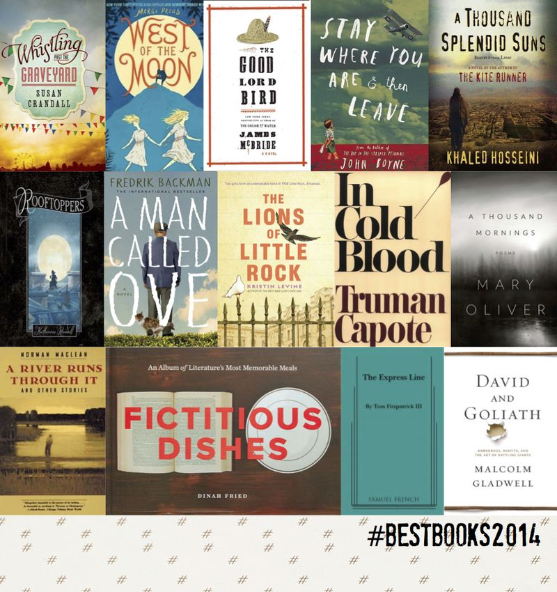 Elizabeth's Best Books of 2014