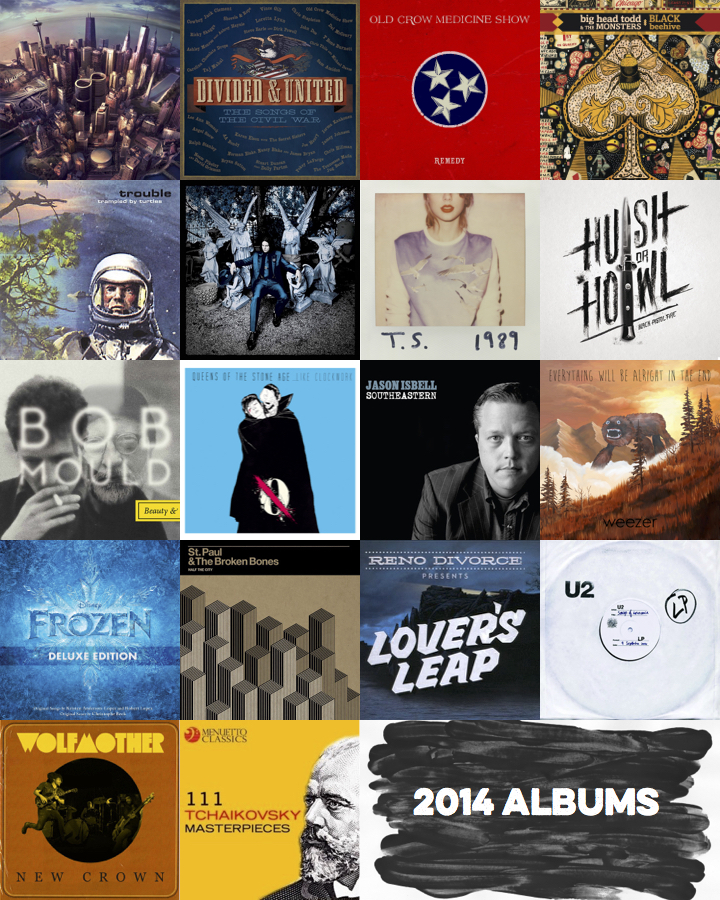 2014 Dillow Year in Music
