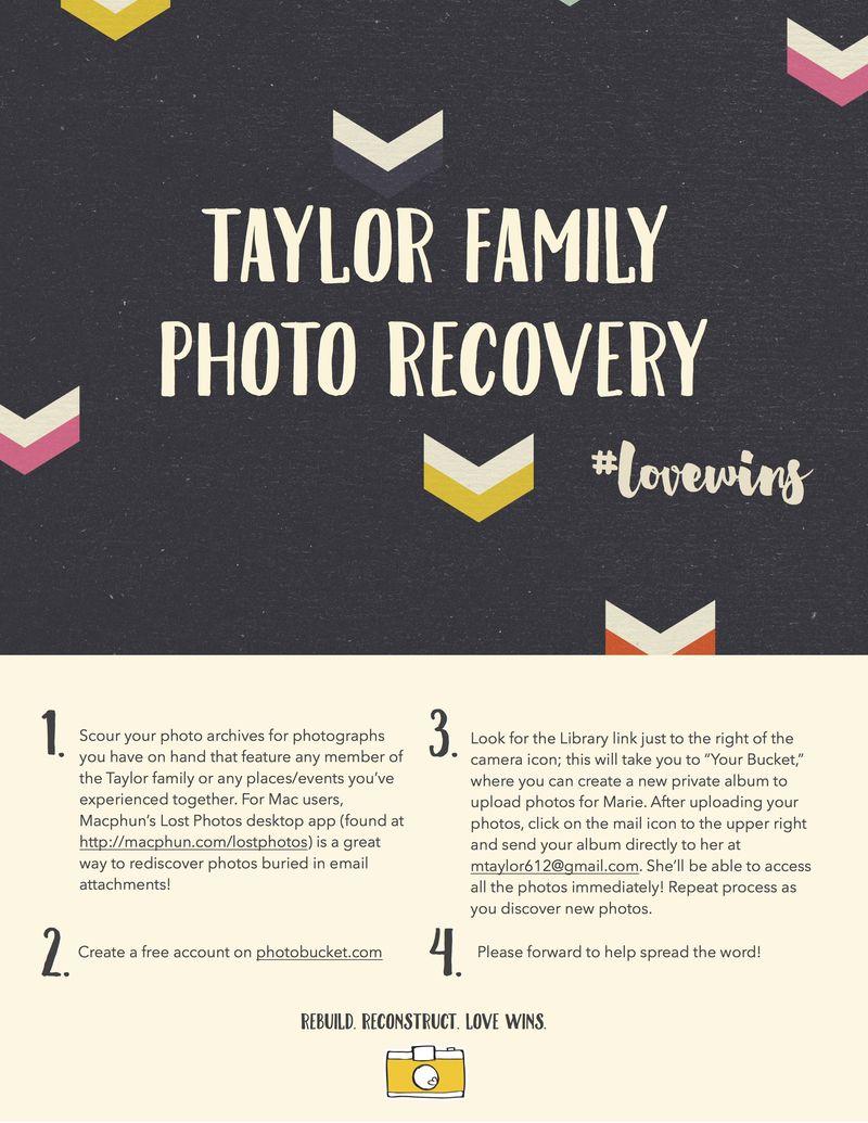 Taylor Family Photo Recovery