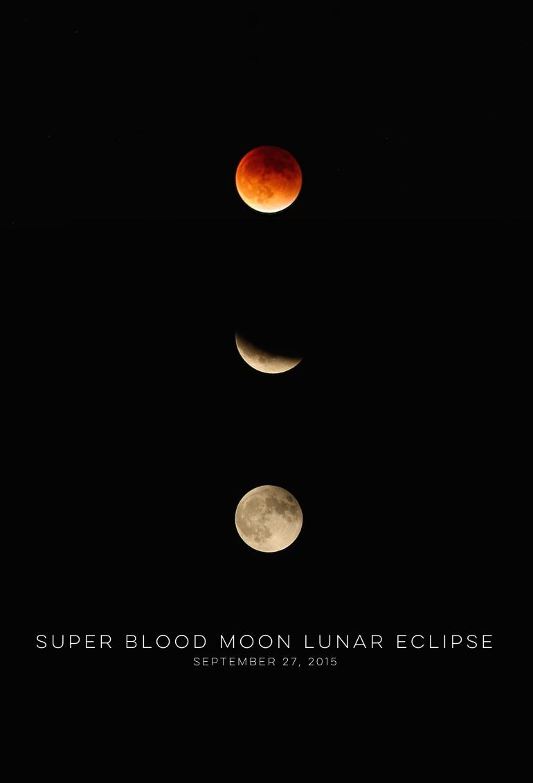 Super Blood Moon Lunar Eclipse