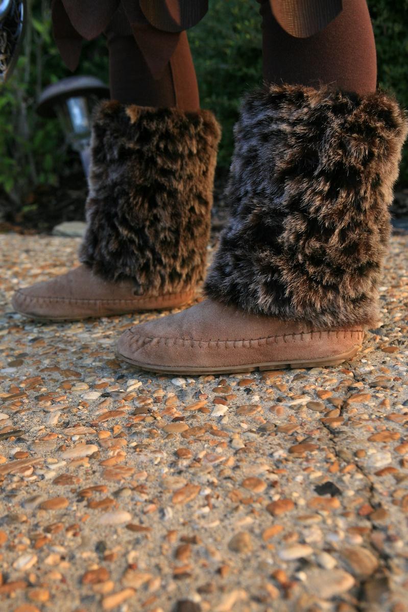 Astrid Faux Fur Boots