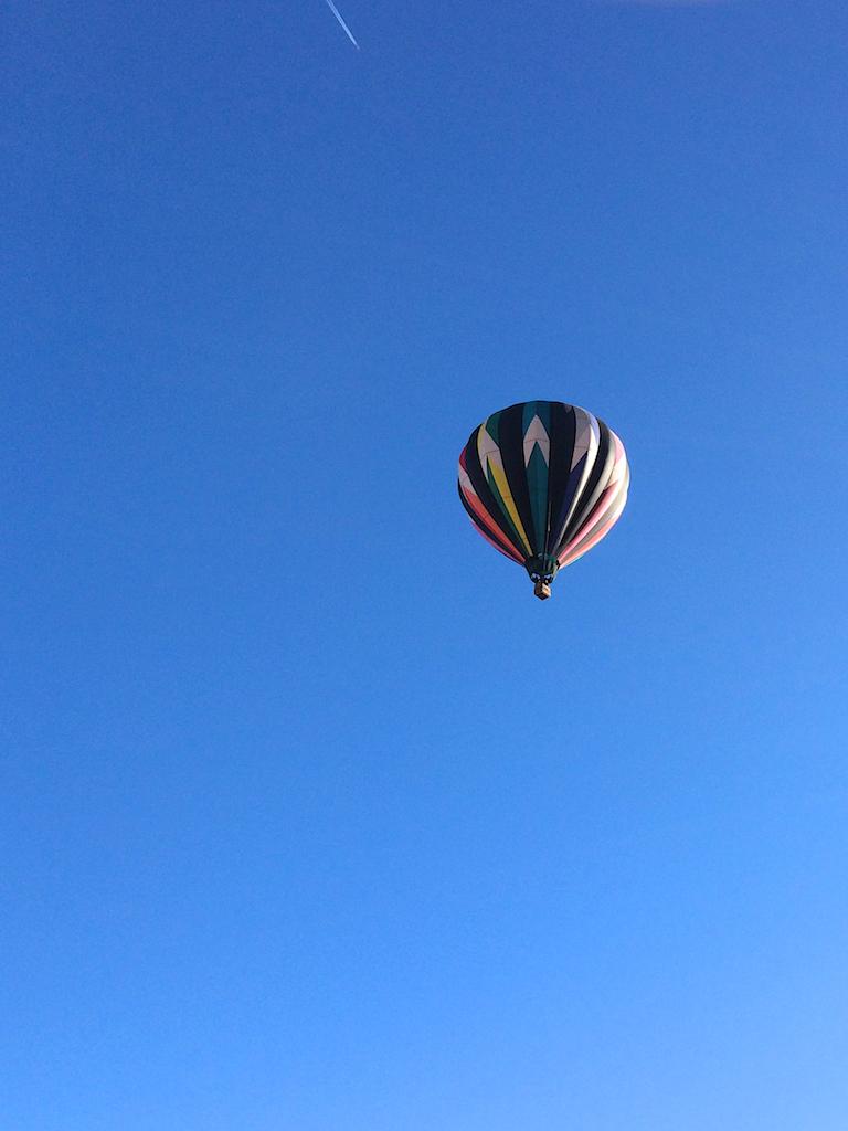Maddie's balloon