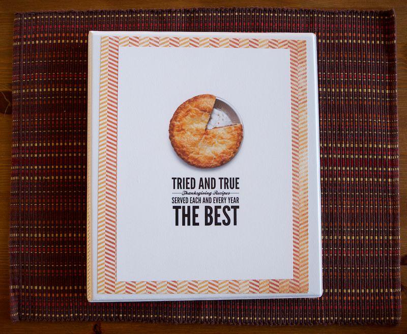 Thanksgiving Recipe Book