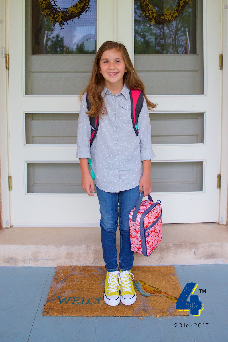 First day of school 2016 3