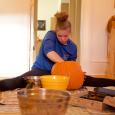 How Gymnasts Carve Pumpkins
