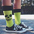 Halloweenie Socks