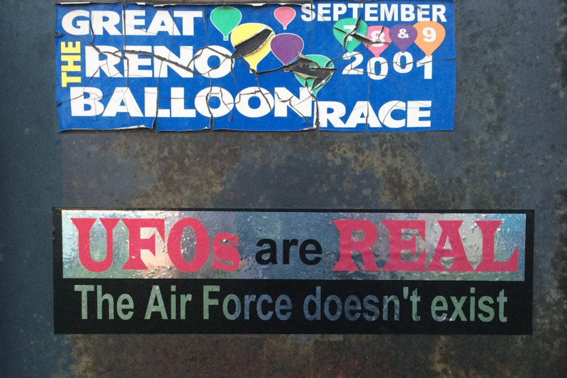 The Air Force doesn't exist