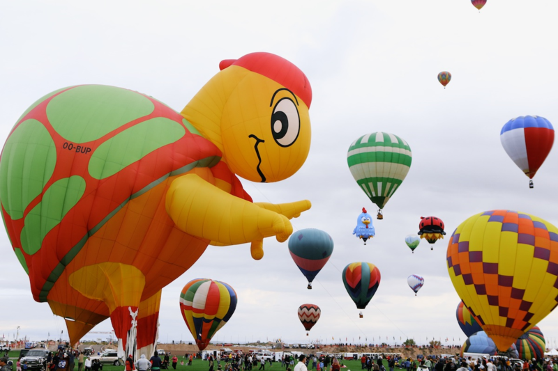 Albuquerque International Balloon Fiesta: Mr. Bup