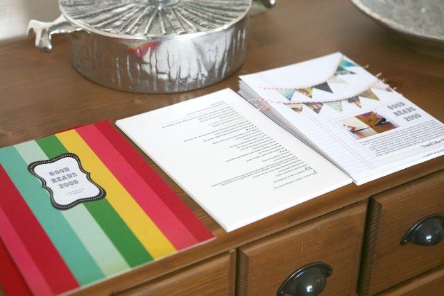 12/52   Good Reads 2009 Circle Journal