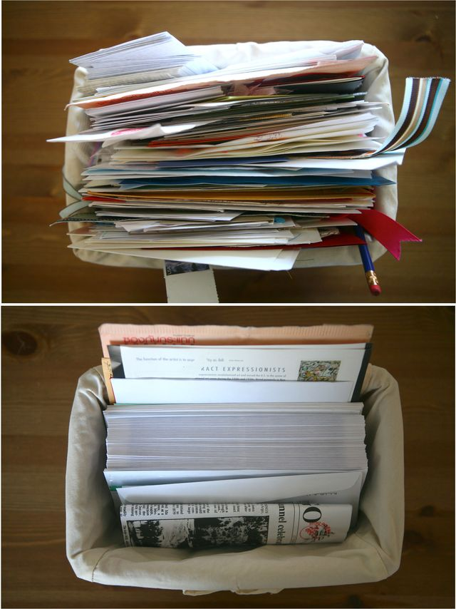 25/52   The Mail/Bill/Catch-all Basket