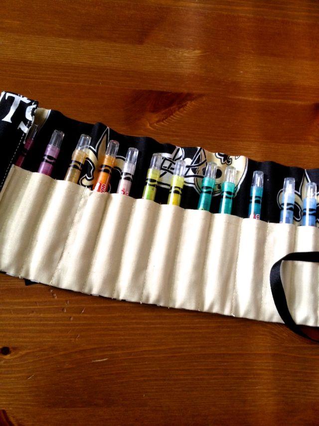 8/52 | The Saints Crayon Roll