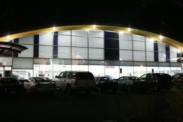 The Gym at Night   1.20.11