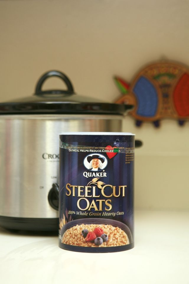 The Steel Cut Oatmeal Experiment | 1.24.11