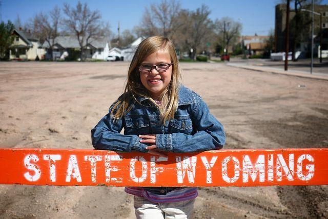 Wyoming Native on Her Birthday   5.23.10