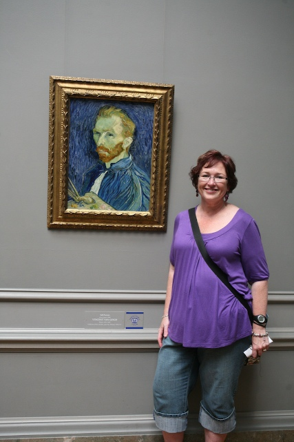 This Close to Van Gogh