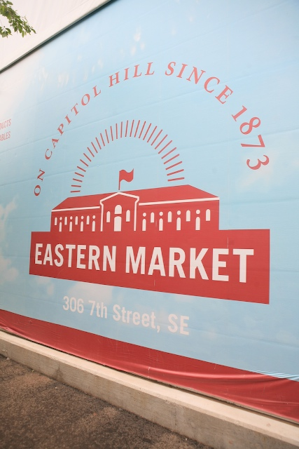 Eastern Market Sign