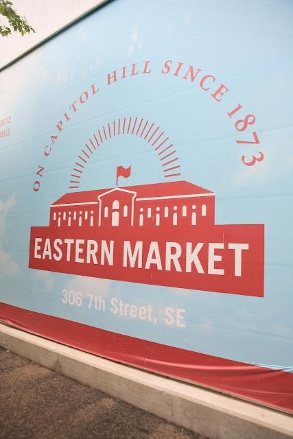 Eastern Market Sign