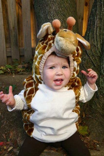 Please Don't Make Me Wear a Giant Giraffe On My Head