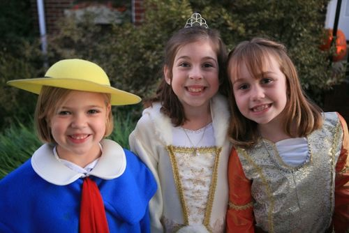 Madeline, Thea the Princess of Snow, and Lucy