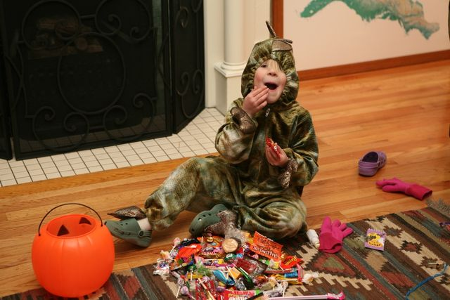 It's All Fun and Games Until Someone Has 29 lbs of Candy In Her Possession