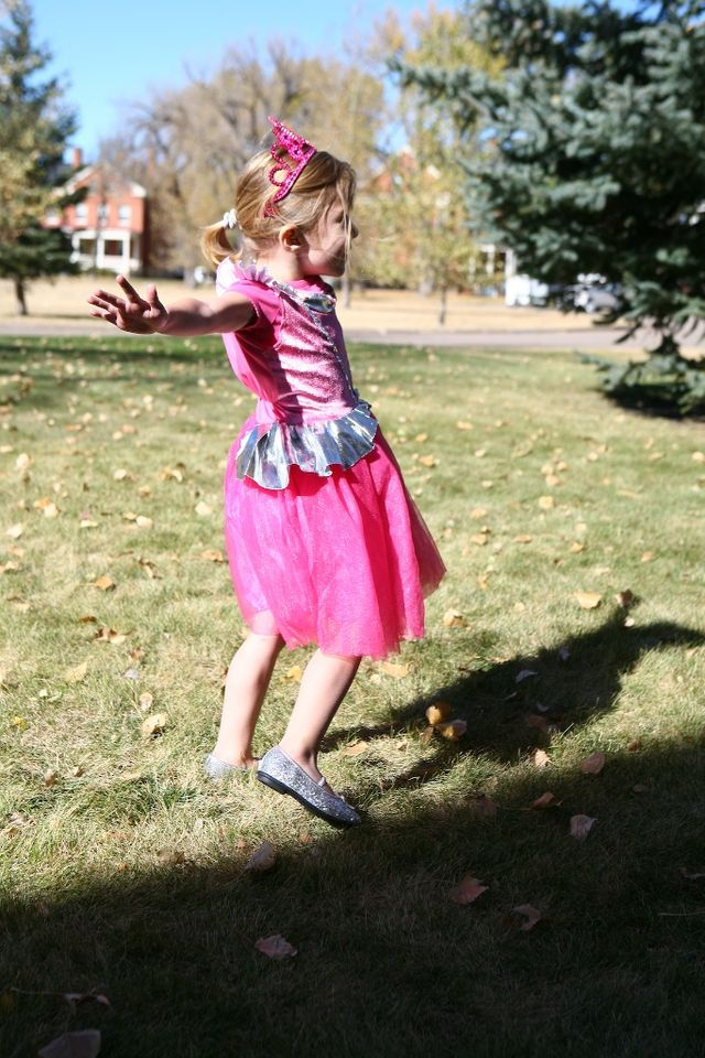 The Hippie Princess, Flitting Around the Yard