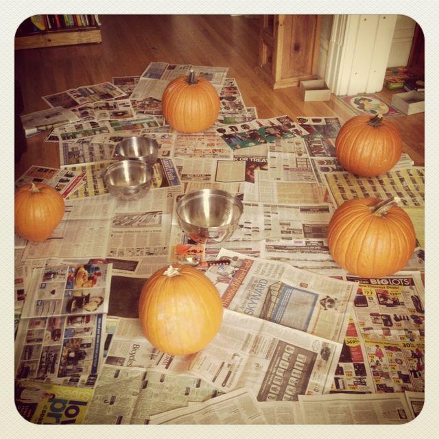 Pumpkin Carving x 5