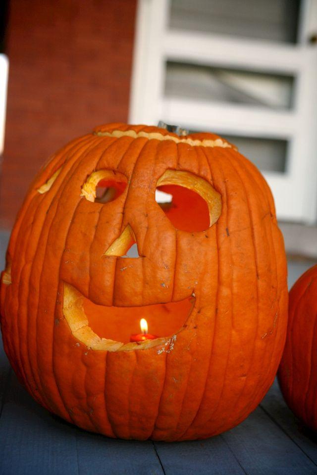 Maddie's Four-Faced Pumpkin