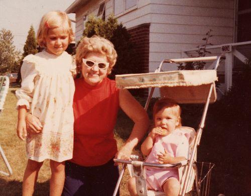 Grandma's Glasses   circa 1978