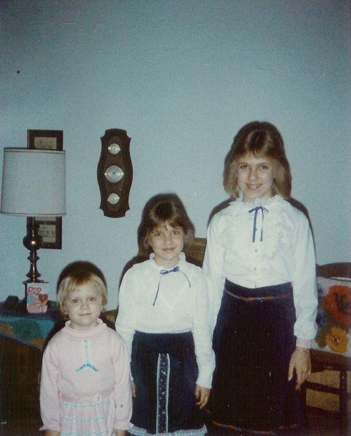 Bad Hair and Crazy Eyes   circa 1983