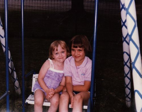 Grandma's Swingset | circa 1984