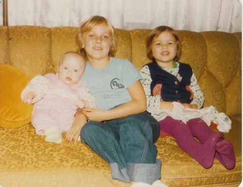 At Grandma Watson's House   circa 1980