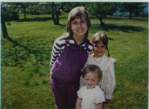 Purple Knickerbockers on the Prairie | circa 1983