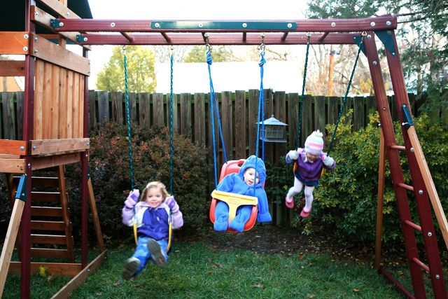 First Ever Swingset Photo