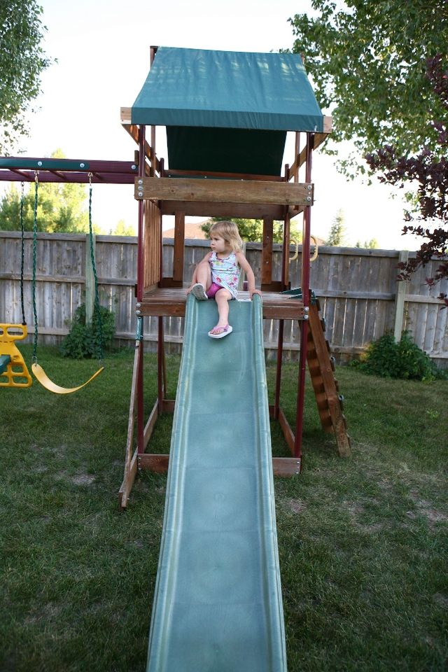 Little Girl, Big Slide